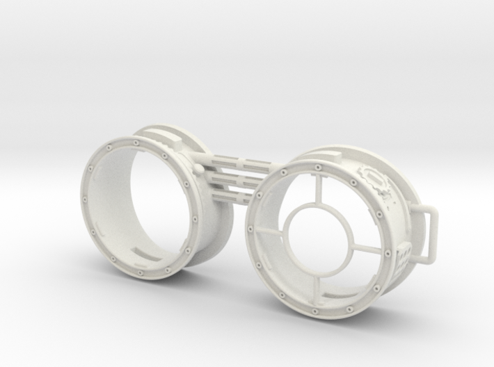 Steampunk: Wearable Glasses / Googles VER.3 3d printed