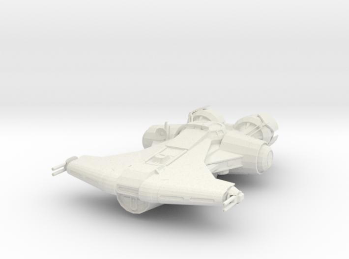 Old Republic Jedi ship 3d printed