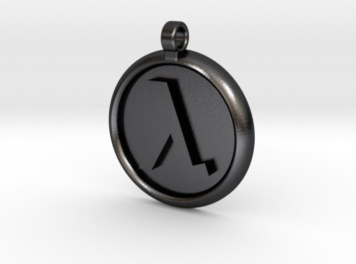 Half-Life Logo Pendant 3d printed