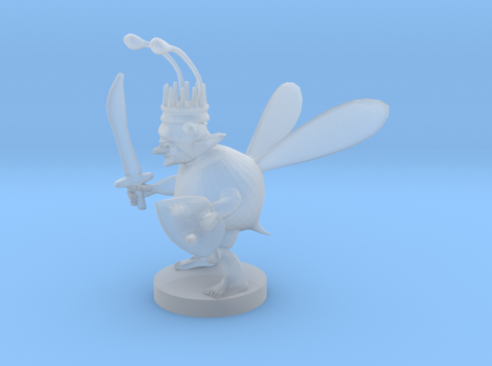 Goblin Bard Bee King 3d printed