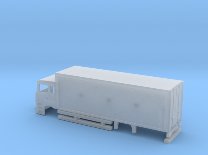 N Gauge Axor-C Rigid Box Moving Bus system 3d printed