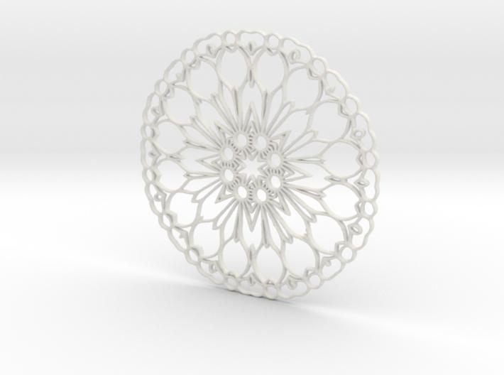 Mandala Deco 3d printed
