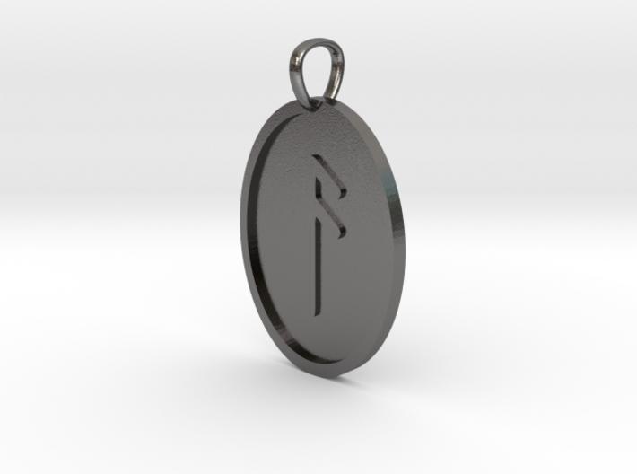 Ansuz Rune (Elder Futhark) 3d printed