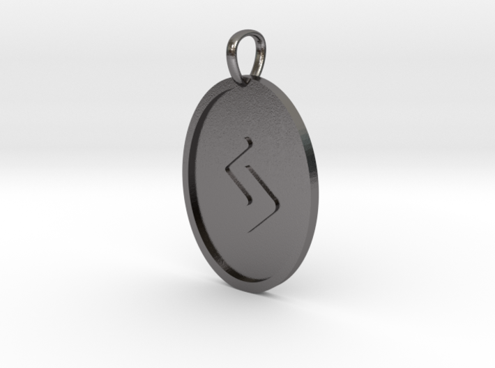 Jera Rune (Elder Futhark) 3d printed