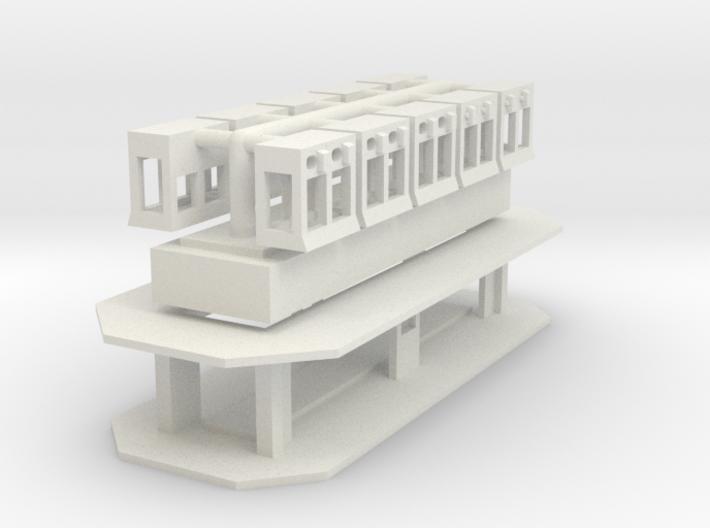 Greifercontainer - 1:220 3d printed
