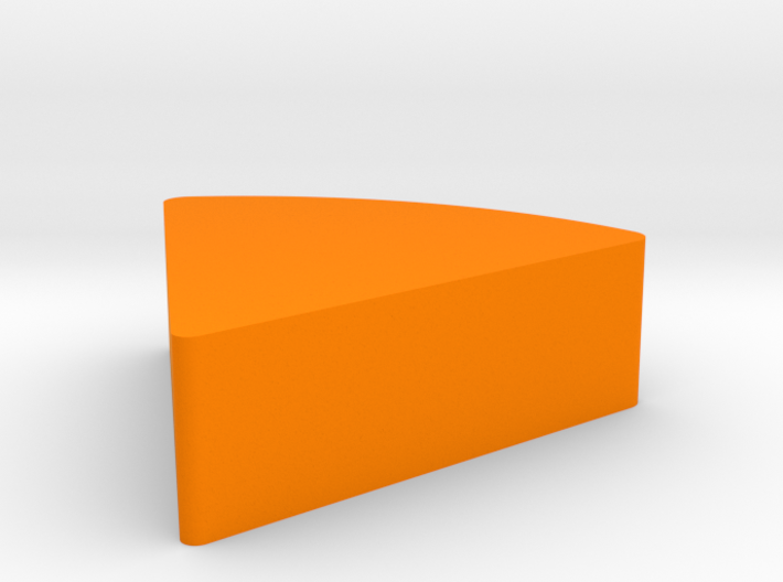 Sliced Cheese Game Piece 3d printed