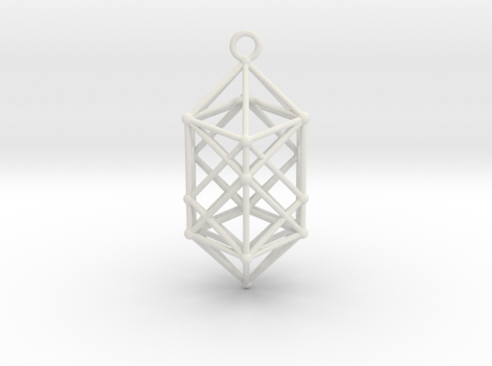 Hyperdiamond projection of 24 cell Octoplex 50mm 3d printed