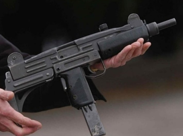 1/48 scale IMI Uzi submachineguns x 5 3d printed