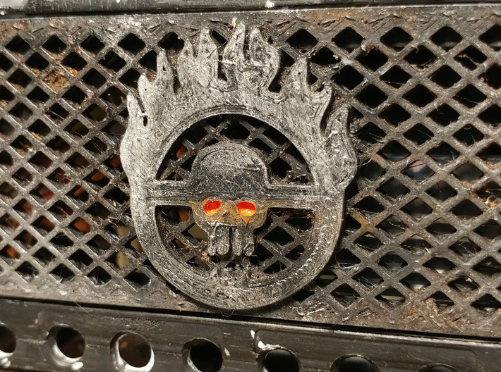 Horizontal Grill for RC4WD D90/D110 3d printed