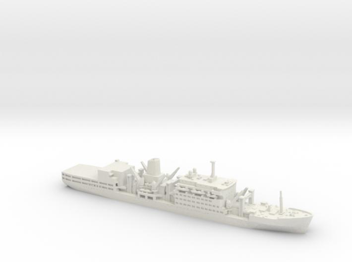 1/1200 RFA Fort Class 3d printed