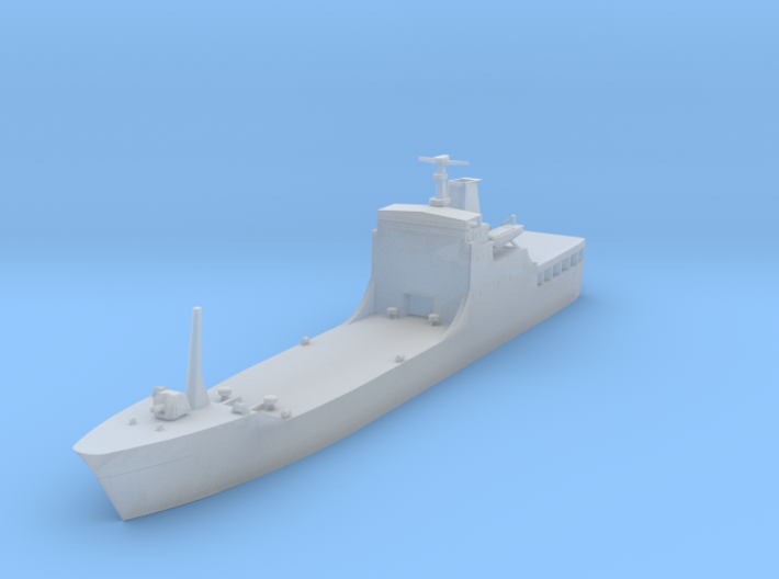 1/1250 Chinese Type 072A LST 3d printed