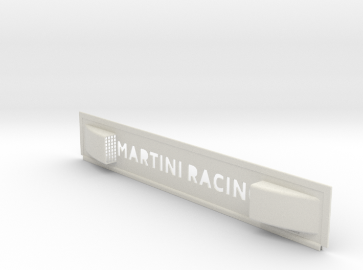 "Lancia Delta I ""Martini Racing"" window Shield 3 3d printed"