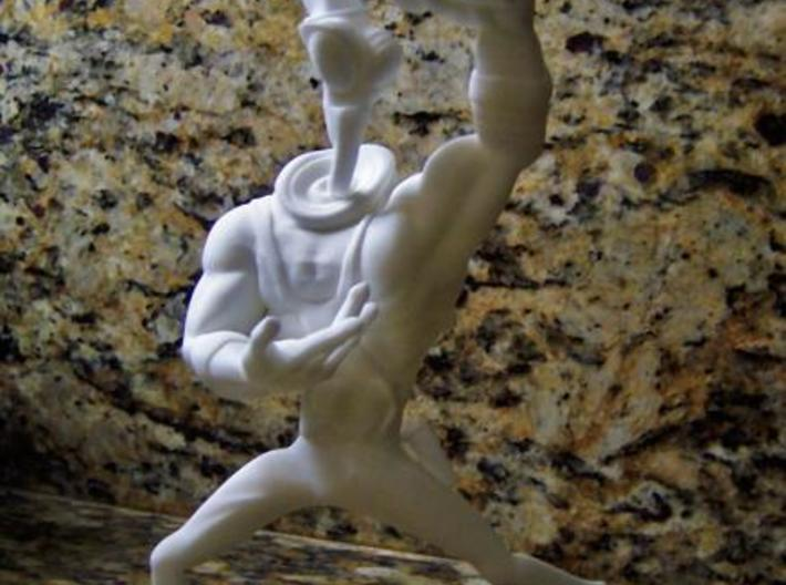 Earthworm Jim 1/8 Scale Figure 3d printed Description