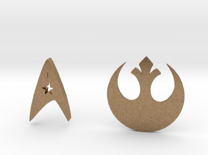 Star ... Pins 3d printed