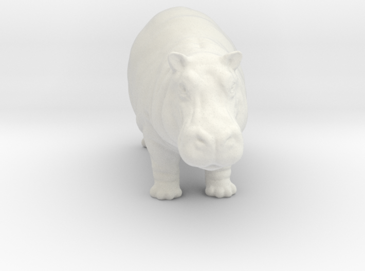 Printle Thing Hippo - 1/35 3d printed