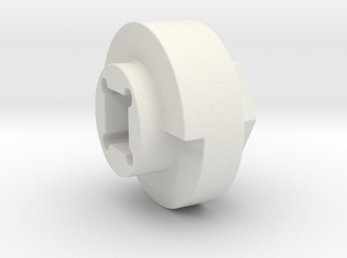 DX4 wheel adapter BS=16mm 3d printed