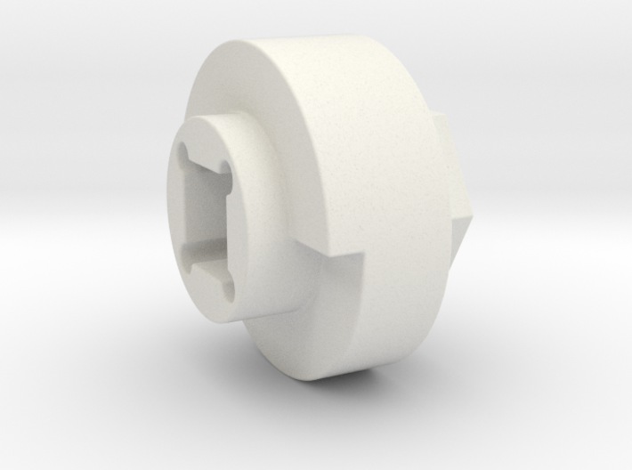 DX4 wheel adapter BS=17mm 3d printed