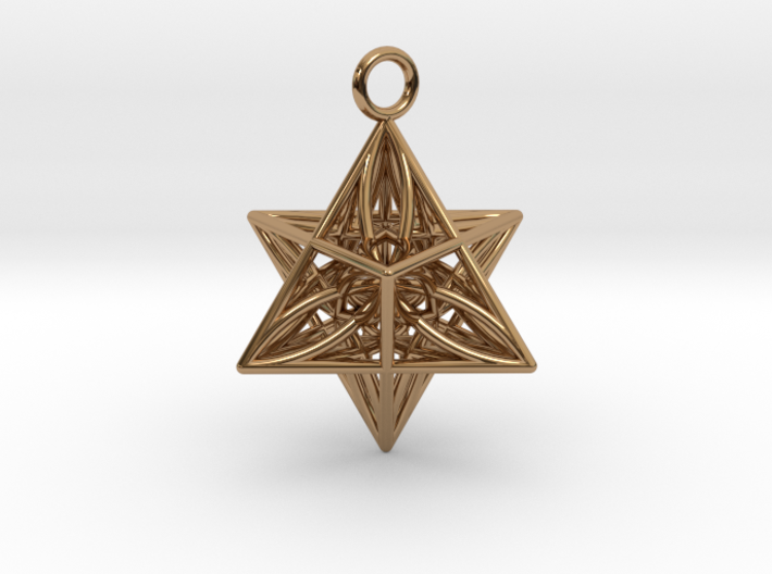 Pendant_Star of Life 3d printed