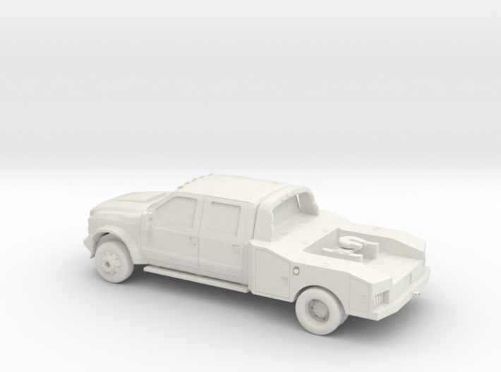 1/64 2011 Ford F450 King Ranch Fith Wheel 3d printed