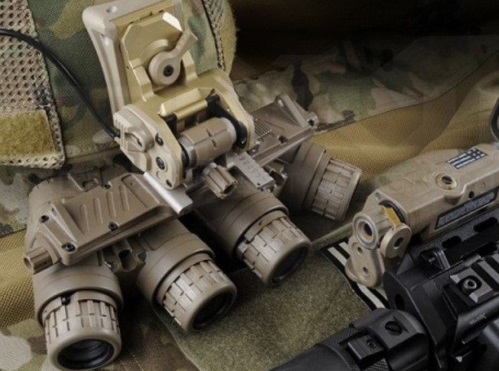 1/48 scale SOCOM NVG-18 night vision goggles x 3 3d printed