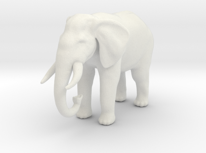Printle Thing Elephant - 1/87 3d printed