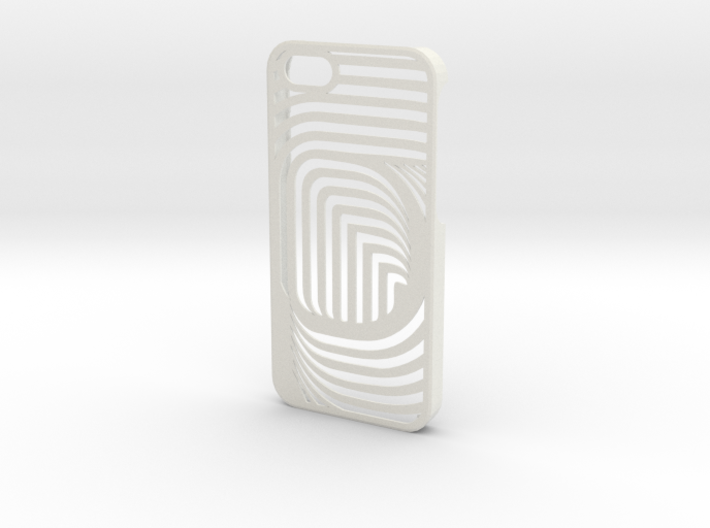 iPhone 5 CurvedLine Case 3d printed