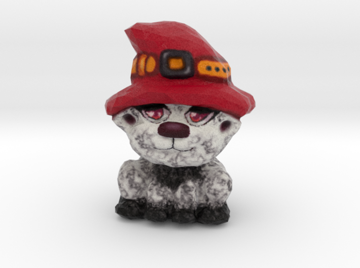 Lou - the Harvest Kitty 3d printed