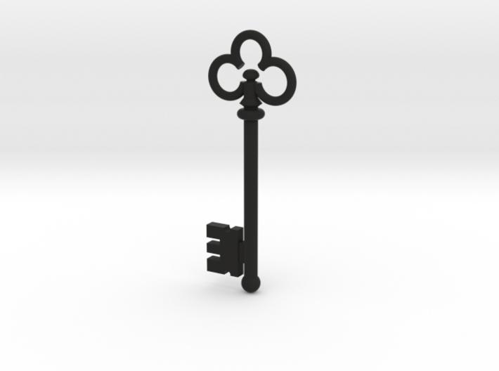 Skeleton Key Pendant #1 3d printed