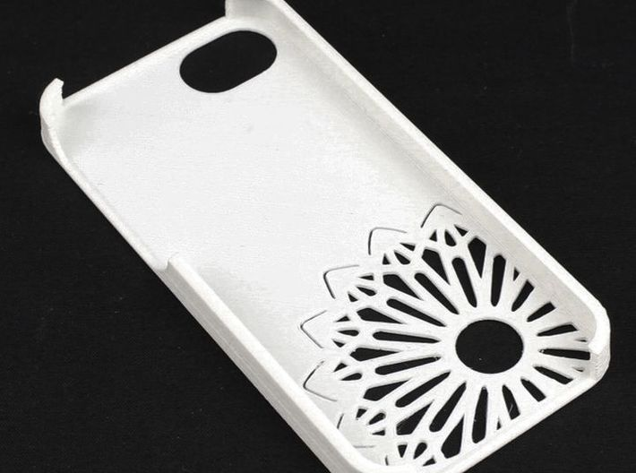iPhone 5 Christmas Snowflake Case 3d printed Picture by Mark Ledwold