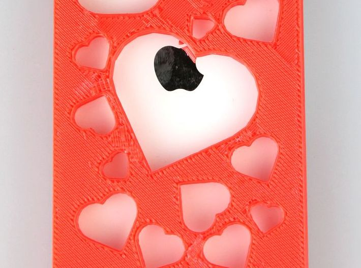 iPhone 4/4S Hearts Case 3d printed Picture by Ankit Jait