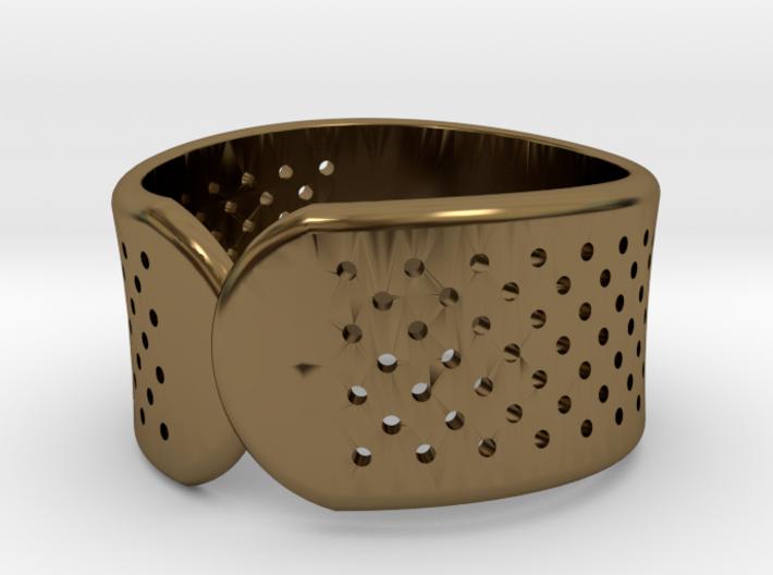 Bandage Ring 3d printed