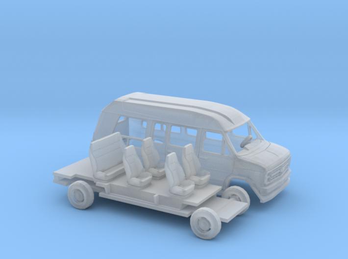 1/160 1988 Chevrolet G-Van Conversion Kit 3d printed
