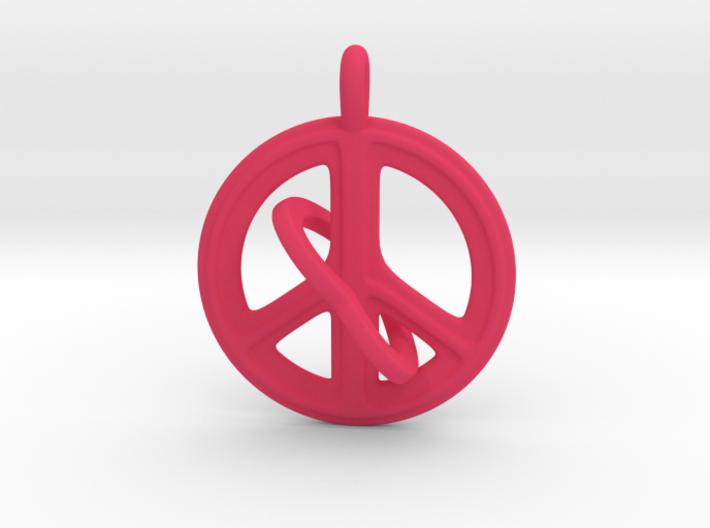 08- PEACEHEART-INTERLOCKING 3d printed