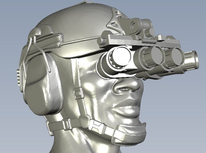 1/15 scale SOCOM NVG-18 night vision goggles x 1 3d printed