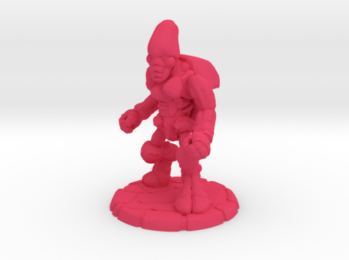 Pillthug, Brawler 3d printed