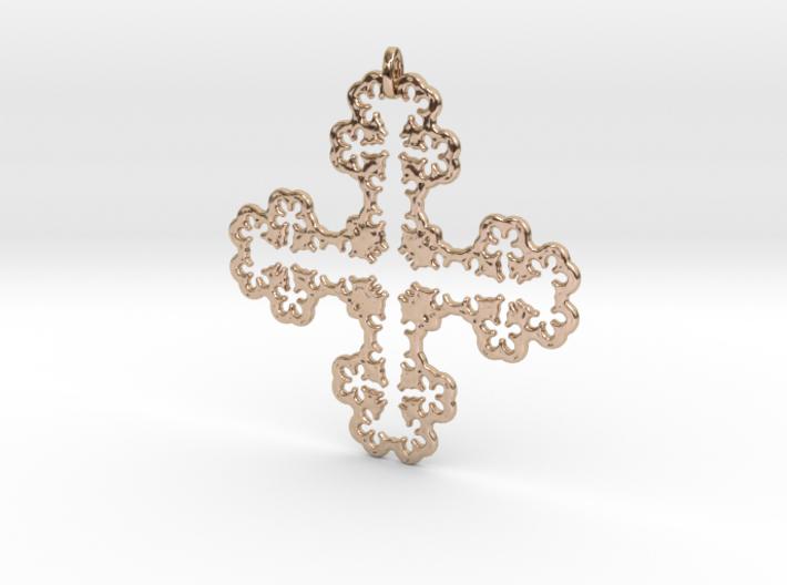 Koch Cross II 3d printed