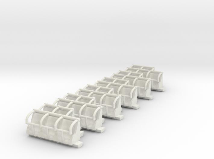 downdraft seats 3d printed