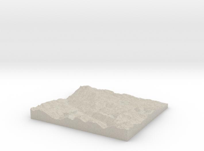 Model of Ascou 3d printed