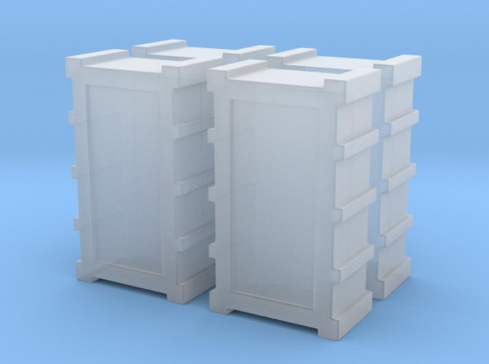 1:43 DEAGO FALCON YT1300 ANH CARGO BOX SET MODEL A 3d printed