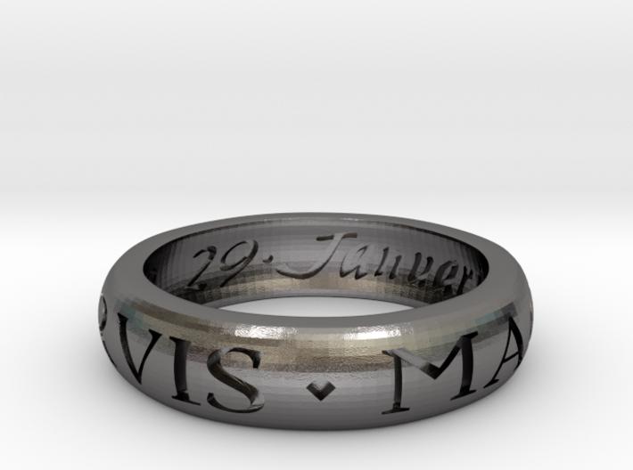 Sir Francis Drake Ring - Uncharted 3 Version 3d printed
