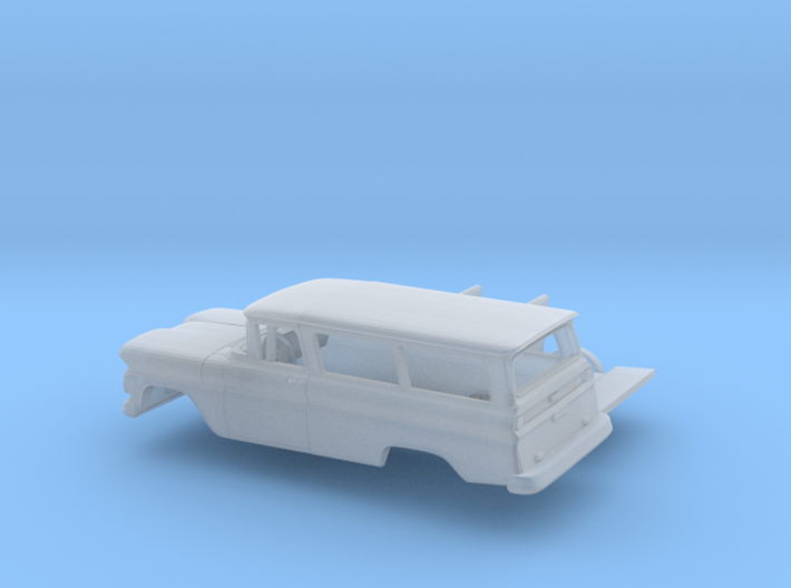 1/87 1960-61 Chevrolet Suburban Kit 3d printed