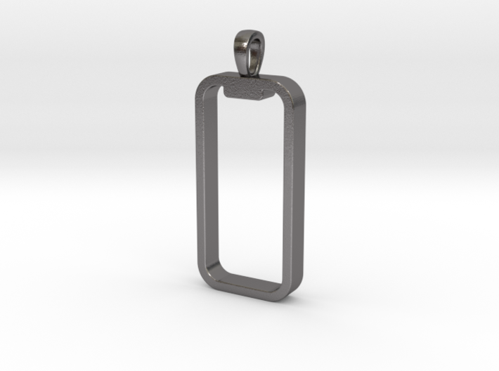 'Embrace The Notch' iPhone X Pendant / Keychain 3d printed