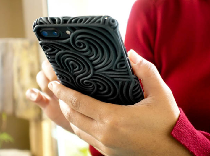 FLOW Case for Iphone 7 & 8 Plus  3d printed