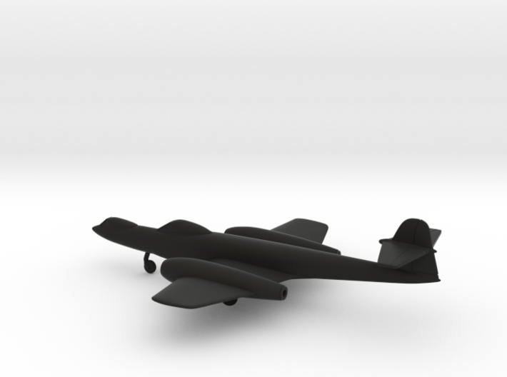 Gloster Meteor F8 Prone Pilot 3d printed