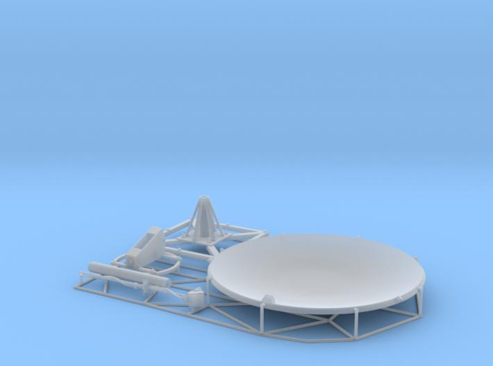 Satellite dish (60mm) 3d printed