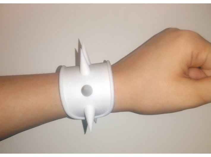 Spike Cosplay Cuff 3d printed First print