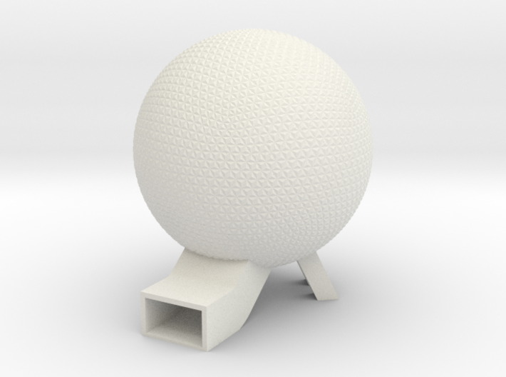 EPCOT Spaceship Earth Model 6in 3d printed