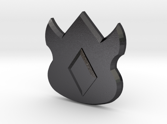Pokemon Kanto Volcano Badge 3d printed
