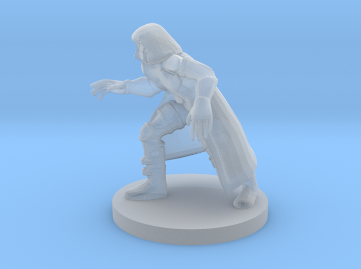 Masked Wizard 3d printed