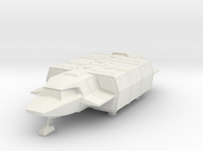 Shuttle (Squad) Landed (V, The Visitors) 3d printed Version 2 Model